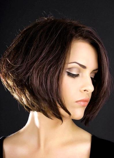 model rambut poni - bob