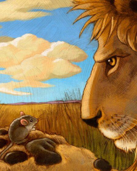 Dongeng-Fabel-Singa-Dan-Tikus-Yang-Menginspirasi.